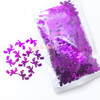 Purple Foil Witch Sequins Embellishment - 50g