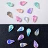 Pastel Teardrop Crystal Gems Rhinestones (36 pieces)