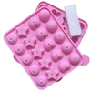 Lollipop Popsicle Cake Pop 3D Silicone Mold