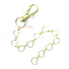 Hearts Shape Chain with Lobster Clasp (2 pieces)
