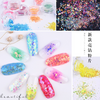 Holographic Iridescent Glitter Shapes Mix (12 colours)