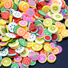 Fruit Slices Polymer Clay Fake Sprinkles Toppings