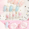 Holographic Rainbow Glitters in Hearts Confetti (3 pieces)