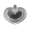 Puffy Heart Blanks Water Shaker Charm (2 pieces)