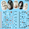 Creepy Cute Halloween Nail Art Stickers