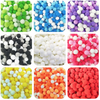 Colorful Pom Pom Balls Mix (approx. 80 pieces)