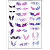 Magical Wings Gradient Clear Resin Film