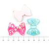 Confetti Ribbon Resin Cabochon (6 pieces)