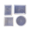 Water Ripple Effect Silicone Mold Bundle (4 pieces)
