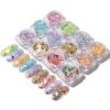 Iridescent Confetti Glitters Mix (12 pieces pack)