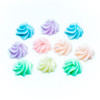 Pastel Whipped Cream Cabochon (10 pieces)