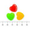 Squishy Fake Sugar Hearts Cabochon (6 pieces)