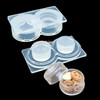 3D Miniature Pastry Container Silicone Mold