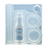 3D Glass Bottle with Straw Silicone Mold