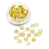 Gold Sakura Metal Embellishment Inclusions (100 pieces)