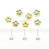 Gold Sakura Metal Embellishment Inclusions (100 pieces)