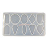 Geometric Shapes Pendant Silicone Mold