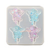 Angel Christmas Clear Silicone Mold