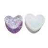 Heart Shape Trinket Box Silicone Mold
