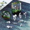 Miniature Terrarium Mushroom (2 pieces)