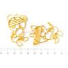 Bandaged Kitty & Bear Open Bezel Charm (4 pieces)