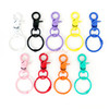 Colourful Snap Clasp Key Ring (3 pieces)