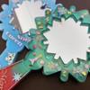 Snowflake Mirror Wand Silicone Mold