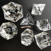 Gamer Sharp Edge Polyhedral Dice Silicone Mold (16mm)