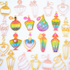 Perfume Theme Bezel Charm (8 pieces)