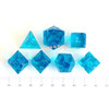 Gamer Polyhedral Dice Silicone Mold (Regular Font)