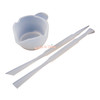 Silicone Holder Cup with Mixing Tools (3 pieces)