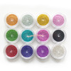Acrylic Micro Beads Color Assortment (0.6-0.8mm) (12 pots)