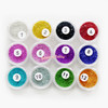 Acrylic Micro Beads Color Assortment (0.6-0.8mm) (12 pots)