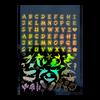 Alphabets & Ocean Gold Holographic Film (Exclusive)
