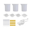 Silicone Cups Mixing Tools Resin Kit