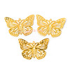 Gold Filigree Butterfly Metal Parts (28 pieces)
