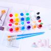 Assorted Colors Acrylic Paint (3ml / 12 colors) (2 sets)