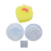 Heart Checkered Trinket Box Silicone Mold (Exclusive)