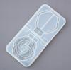 Rose Compact Mirror Silicone Mold