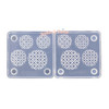 3D Miniature Waffles Silicone Mold