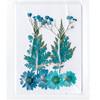 Blue Dried Flowers Assortment