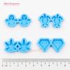 Mini Earrings Silicone Mold