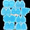 Kawaii Dangle Earrings Silicone Mold