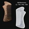 Comb Silicone Mold