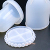 Dome Display Container with Lid Silicone Mold