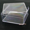 Square Acrylic Container with Plastic Lid