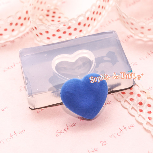 Puffy Heart Silicone Mold
