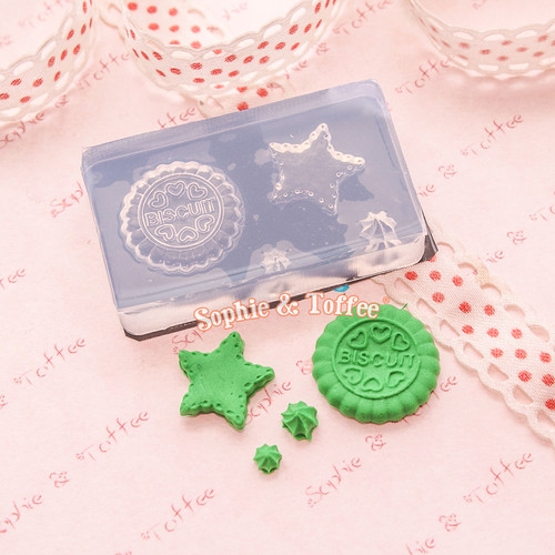 Biscuits & Cream Silicone Mold