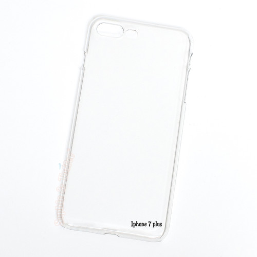 IPhone 7 Plus Clear Hard Case - 2 pieces