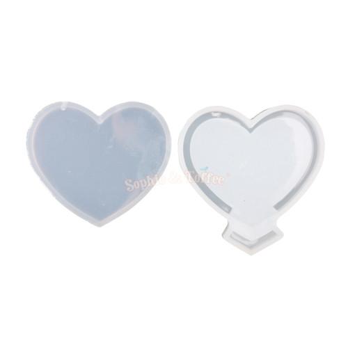 Heart Shape Shaker Silicone Mold